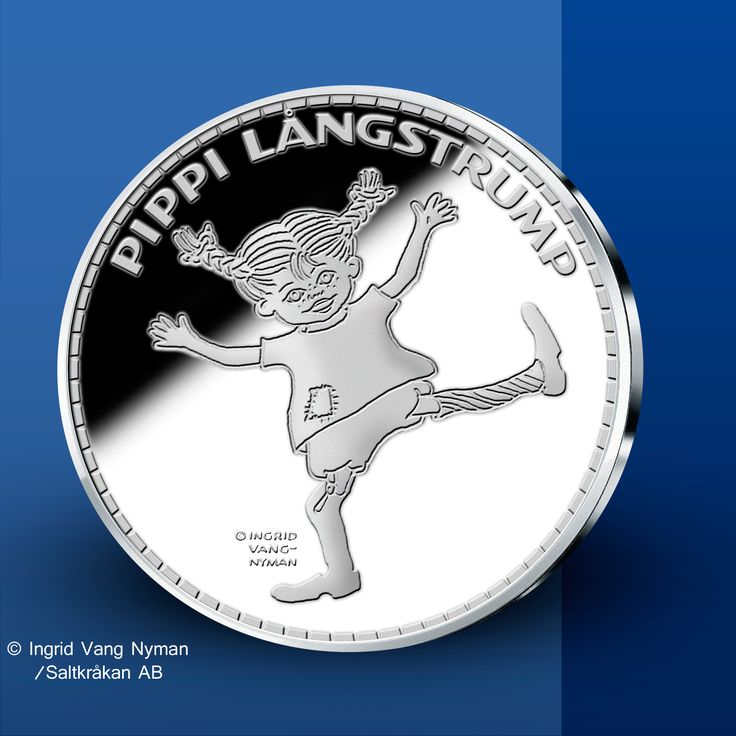 Pippi Långstrump  - Pippi Långstrump Silvermedaljer