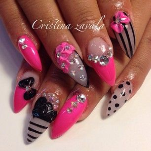 Instagram photo by nailsbycrissty - My client said they look like doll nails