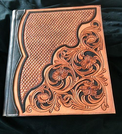 Leather binder!-SR