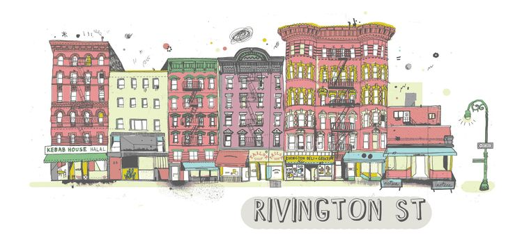 All the Buildings in New York…That I've Drawn So Far - Rizzoli New York