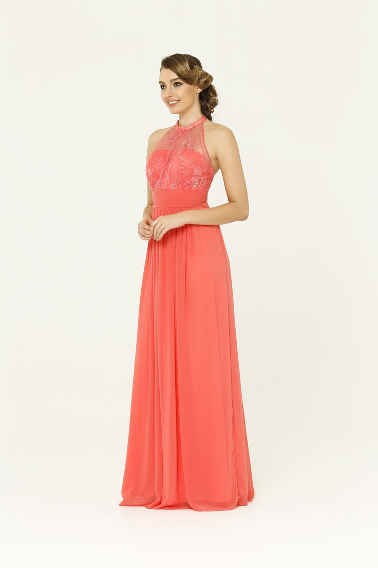 15 best Coral Bridesmaid Dress images on Pinterest | Coral ...