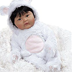 Paradise Galleries Lifelike & Realistic Asian Baby Doll, Chilly Lily, 19 inch Chinese Baby in GentleTouch Vinyl, Weighted Body