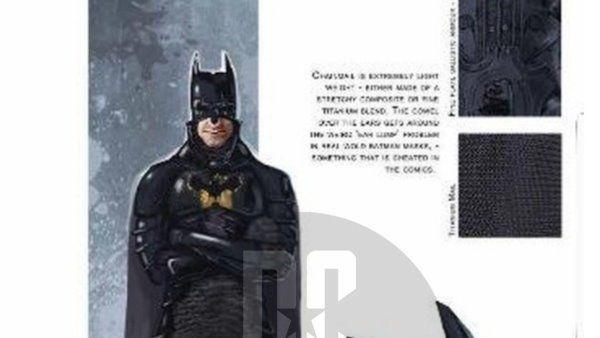 Batman Continues Concept Art Suit