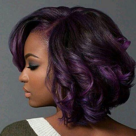 best 25 purple weave hair ideas on pinterest hair weaves black hair weave styles and wavy weave