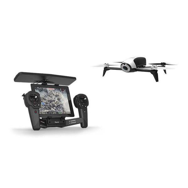 Découvrez Bebop 2 de chez #parrot avec son Skycontroller, il combine style, robustesse et aérodynamisme !