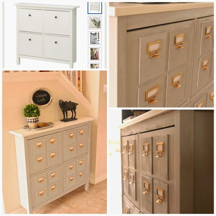 Ikea bissa shoe cabinet hack building supplies home for Ikea shoe storage cabinet hemnes