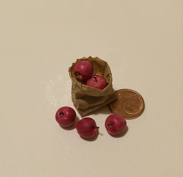 Fimo apples, workshop by Manuela P. Michieli