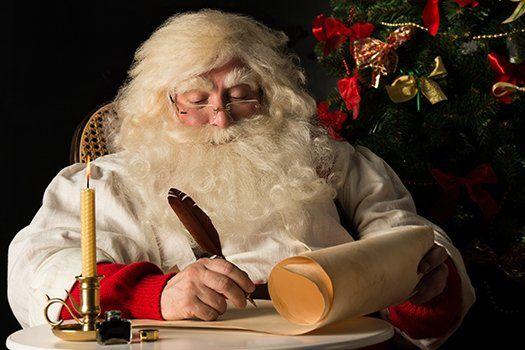 Julebrev fra julenissen