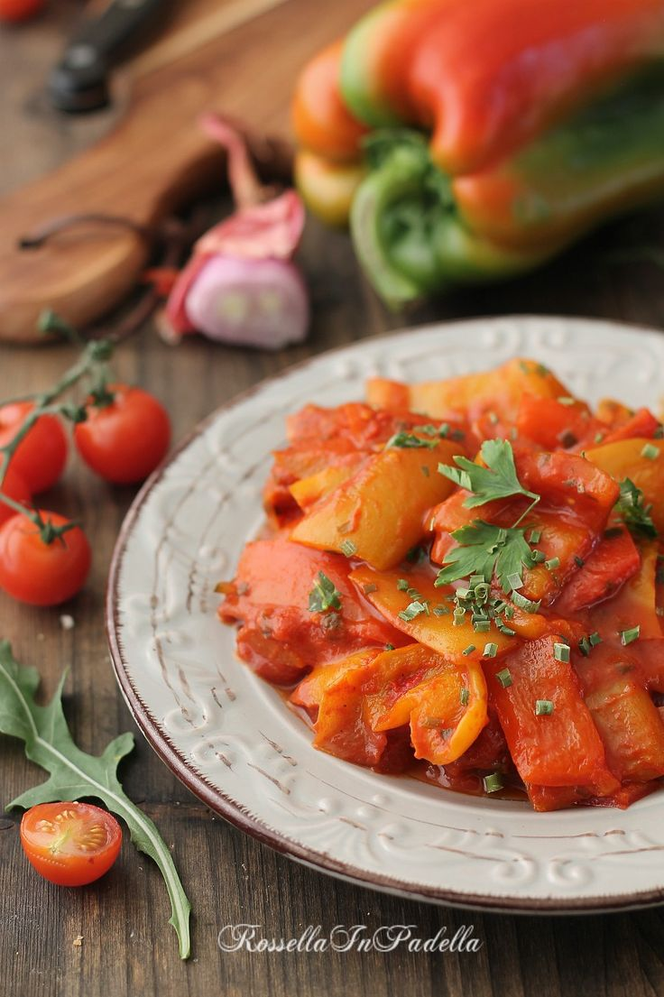 Peperonata, ricetta siciliana