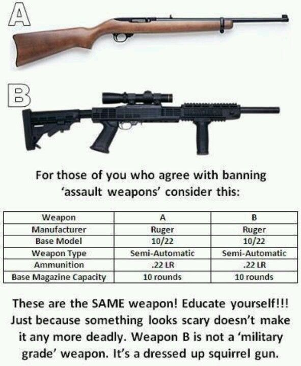 Can Liberals define what an assault weapon is?