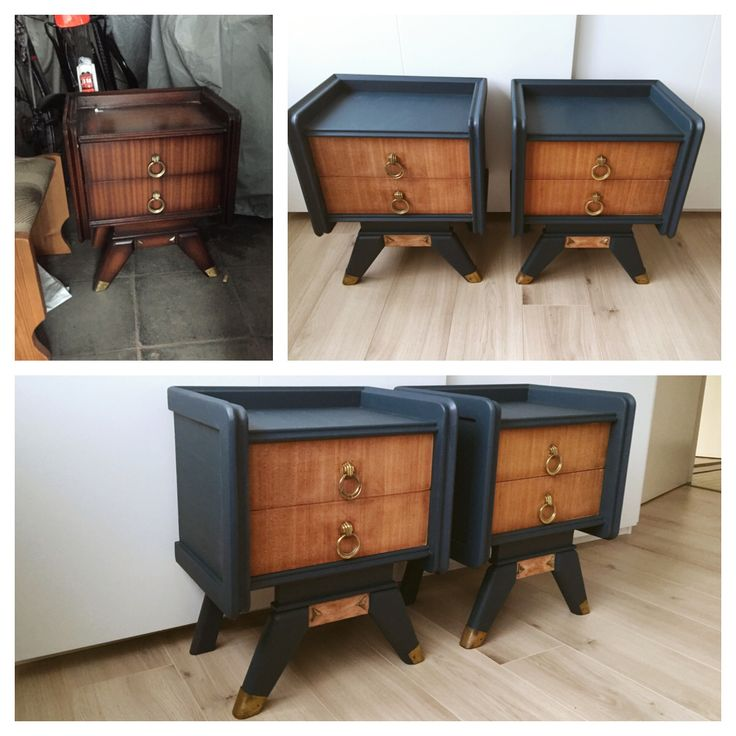 Two toned furniture trend, Pretty!