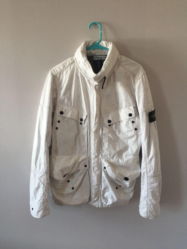 Stone Island Tyvek Jacket Size L $225 - Grailed