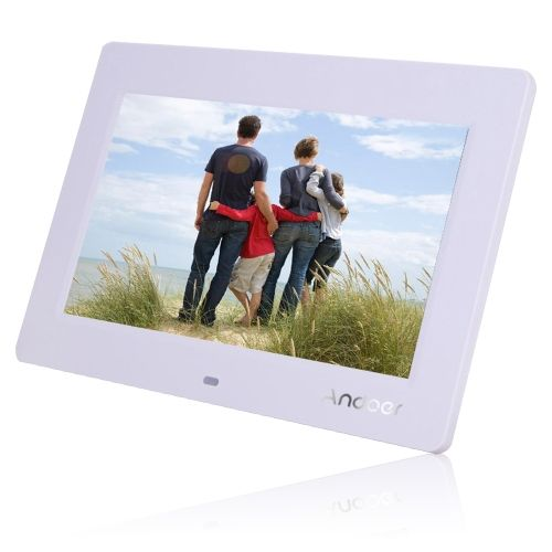 10 hd tft lcd 1024 600 digital photo frame clock mp3 mp4