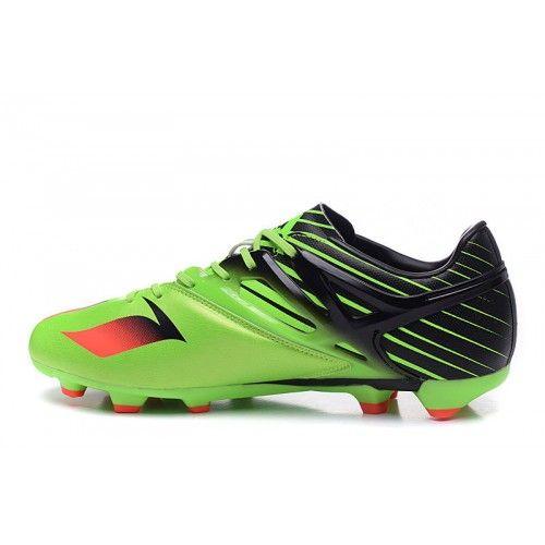 Adidas Messi - Horký Adidas Messi 15.1 FG Zelená Černá Kopačky