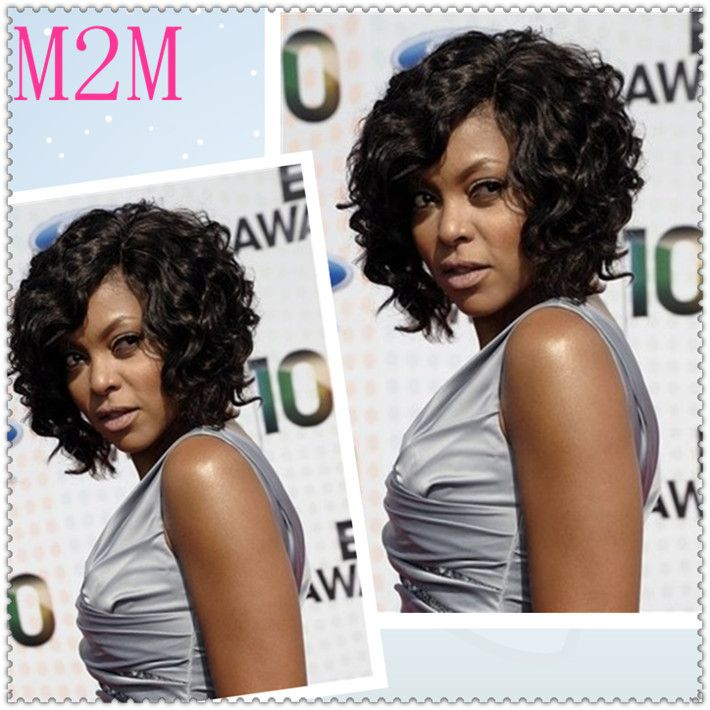 brazilian glueless lace front wigcustom made human hair bob wig african american curly bob hairstyles 710x710