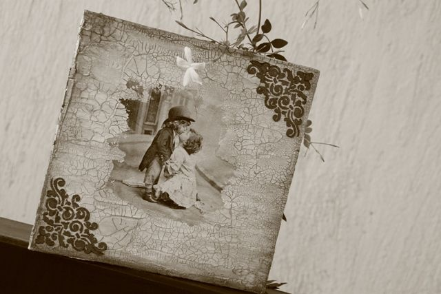 Photo album #weddingalbum #decoupage #couple #memories #album