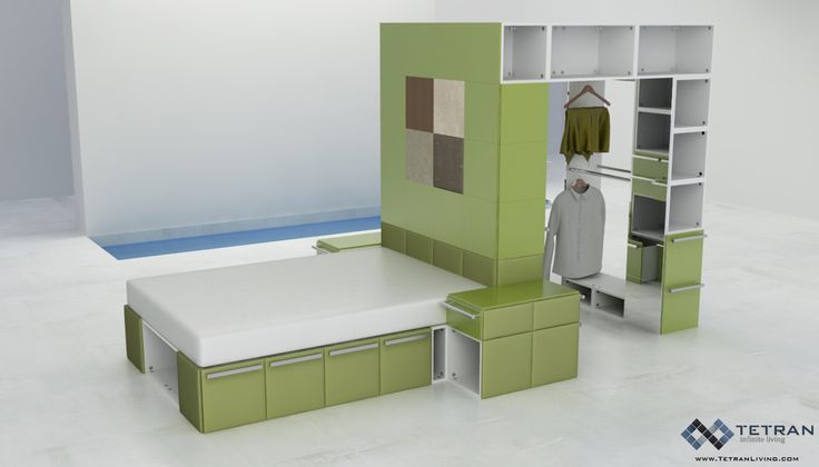 Best Clever Multifunctional Bed And Closet Design Modern 640 x 480