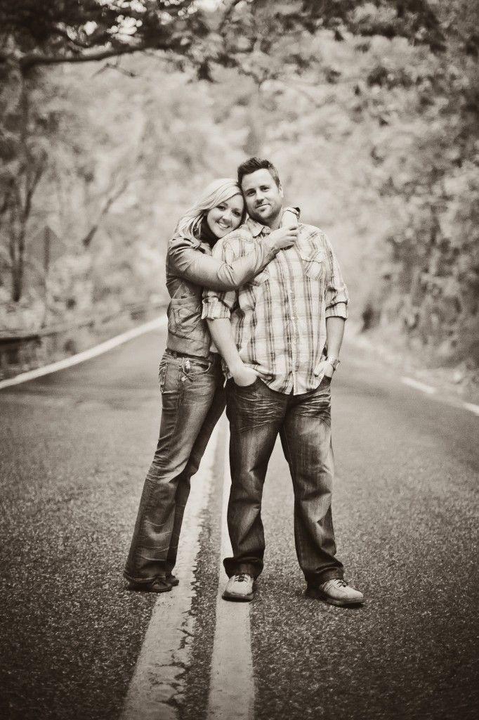 Posh Poses | Couples | Black & White | Outdoors | Amy Fraughton