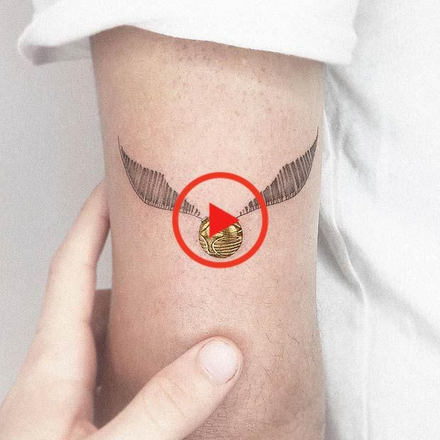 47 Kuhle Und Magische Harry Potter Inspiriert Tattoos Tattoos Tattoo Artists Cool Tattoos