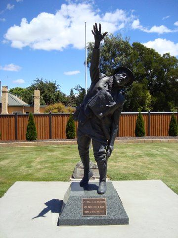 The Harry Murray VC Memorial Room, Evandale Community Centre.  To find out more click on the photo.
