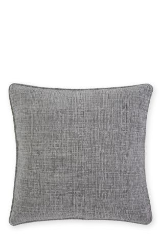Buy Textured Chenille Silver Cushion from the Next UK online shop