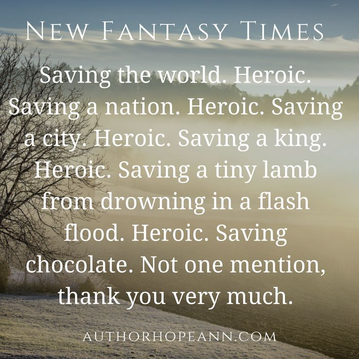 A satirical article on hero cliches: https://authorhopeann.com/new-fantasy-times/