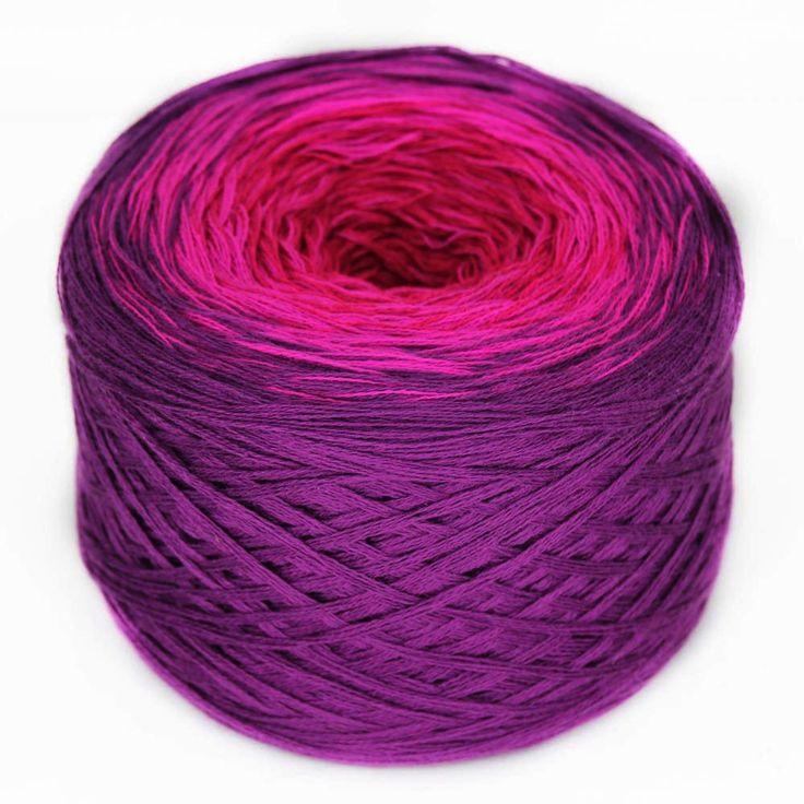 Regenbogen 17, Magnolia, hand-wound multi-coloured lace yarn, 4ply, 20 – I Wool Knit