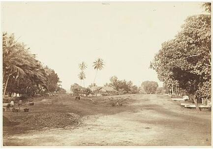 Ini sebelum ada Tugu Tani di Menteng Jakarta Pusat sekitar Tahun 1900an.