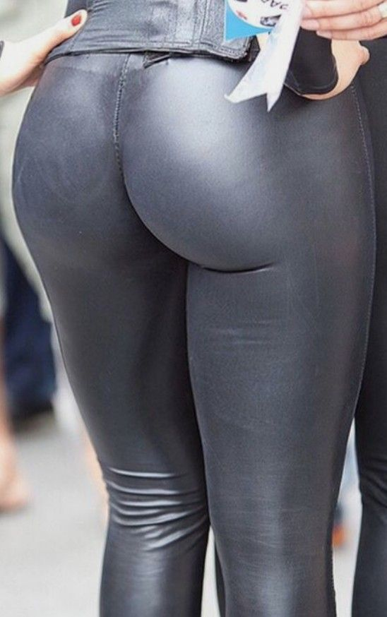 b42ff25d7f8 These shimmering spray on black Spandex Leggings can only be worn with no  Underwear