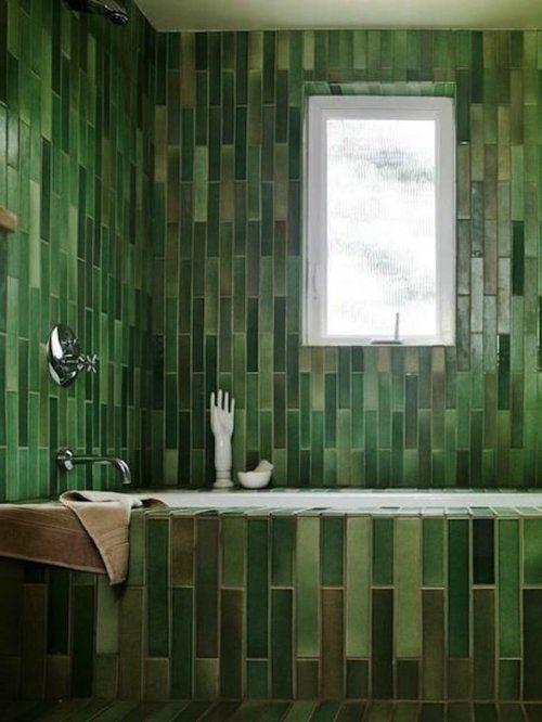 Die Besten 25 Dunkelgrune Badezimmer Ideen Auf Pinterest Grune