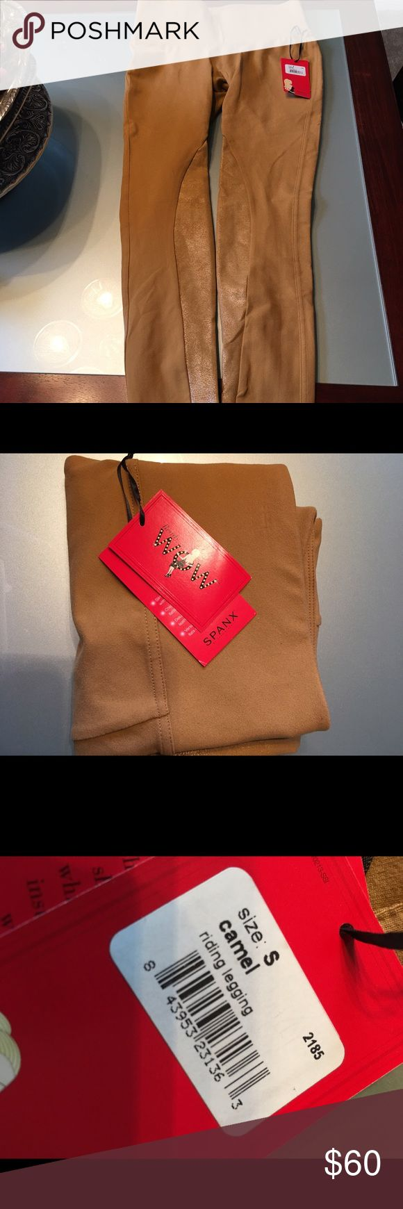 Spanx leggings High compression leggings. Brand new with tags. Size small. Camel color. SPANX Pants Leggings