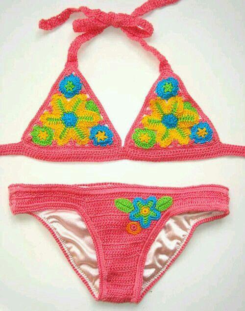 40 besten bikinies Bilder auf Pinterest | Kleidung häkeln ...