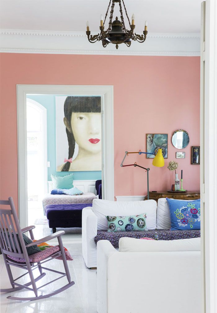 24 best Pop of color images on Pinterest | Living room, Bedroom and ...