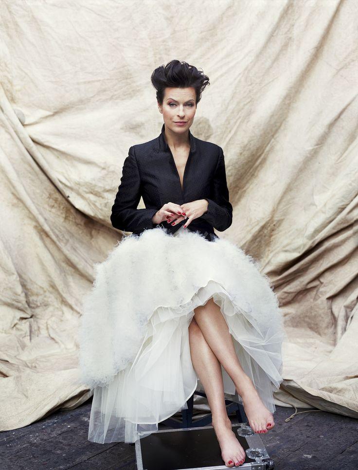 MATEUSZ STANKIEWICZ | Fashion & Celebrity Photographer | Danuta Stenka for Sukces | AFPHOTO