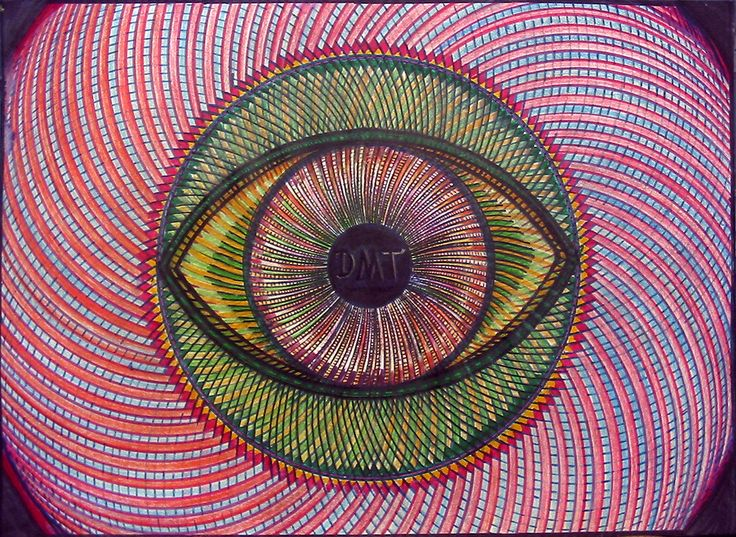 DMT Art  Visionary Paintings Inspired by DMT