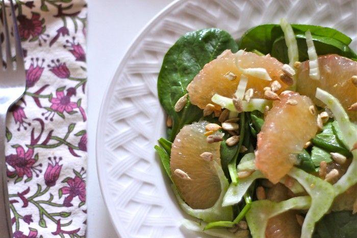 ... Salad on Pinterest | Grapefruit salad, Winter fruit salad and Lemon