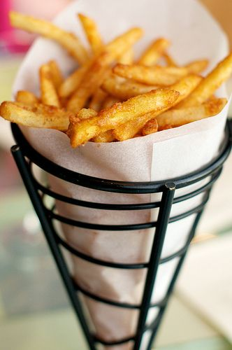 french fries intense craving right now
