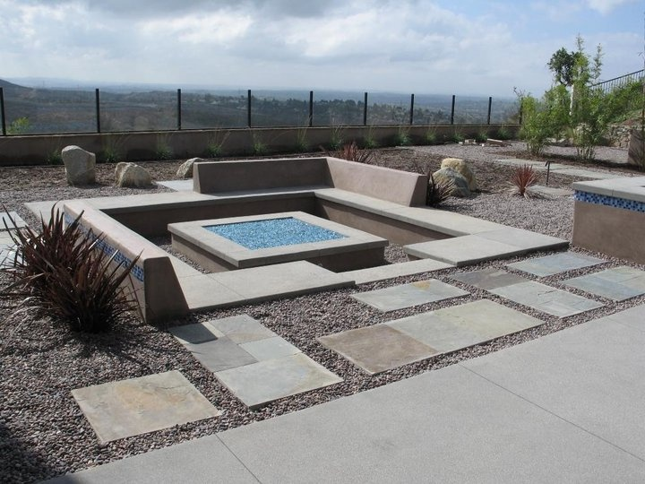 sunken fire pits conversation pit fire pit area garden seating outdoor