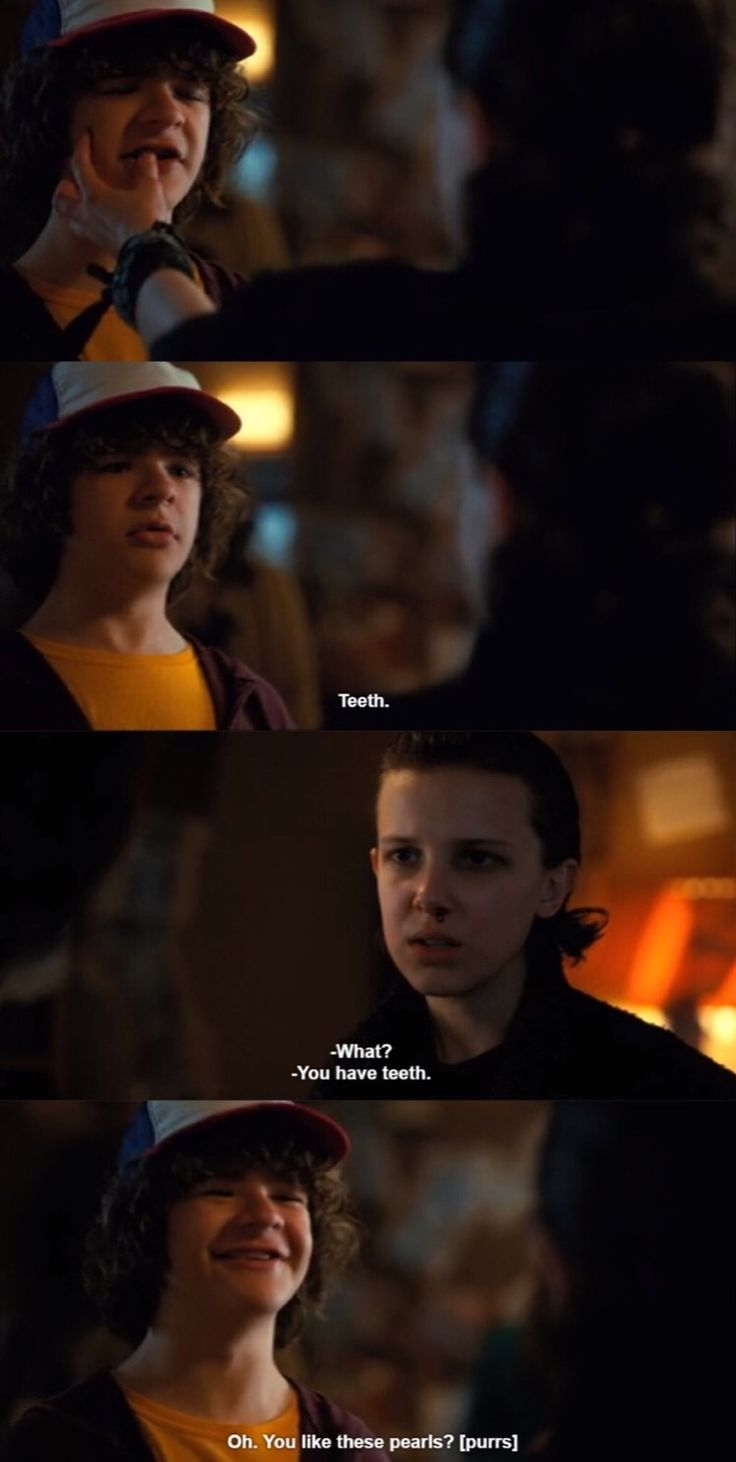Dustin And Eleven