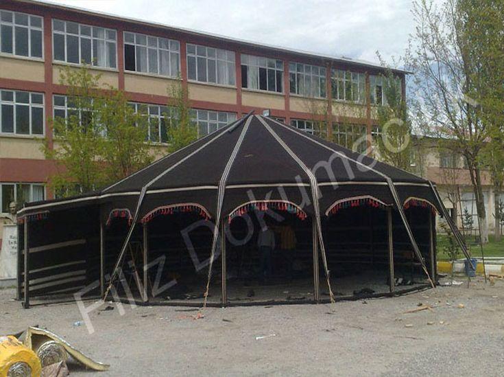 Muş Alparslan Üniversitesi | Filiz Dokumacılık | Kıl Çadır, Yörük Çadır Üretimi