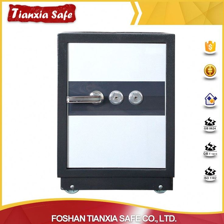 good-selling electronic digital lock double key fireproof security safe for sale