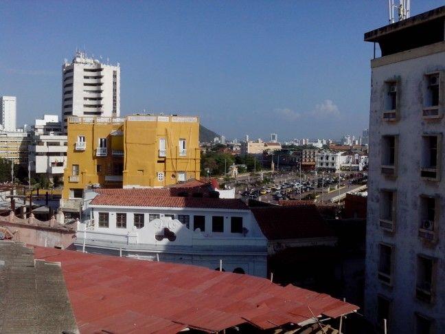 Vista del Corralito de Piedra #CartagenadeIndias
