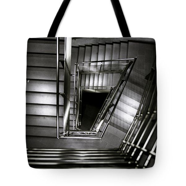 Don't Look Back Tote Bag by Cesare Bargiggia