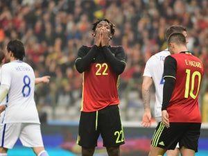 Thorgan Hazard 'threatened to keep ball from Michy Batshuayi'