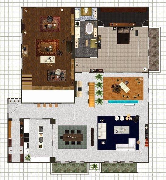Do Min Joon apartment floor plan - Man From The Stars