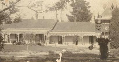 1902 St. Hubert, the home of Dame Nellie Melba's father David Mitchell.