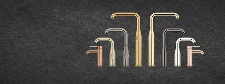 Смеситель для кухни, ванной, раковины - Grohe.: Смесители Grohe. Новые цвета. https://nonano.ru/pr/grohe/smesiteli-grohe-novye-tsveta #NoNaNo.RU #Смеситель_для_кухни,_ванной,_раковины__Grohe.