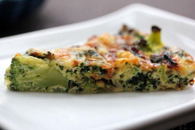 Quiche de Brocoli y Tofu (gluten free) en HazteVegetariano.com