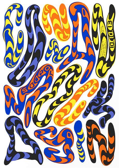 Posters designed by Felix Pfäffli, a.ka. Feixen