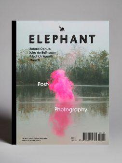 Elefante é uma revista trimestral sobre arte contemporânea e cultura visual.